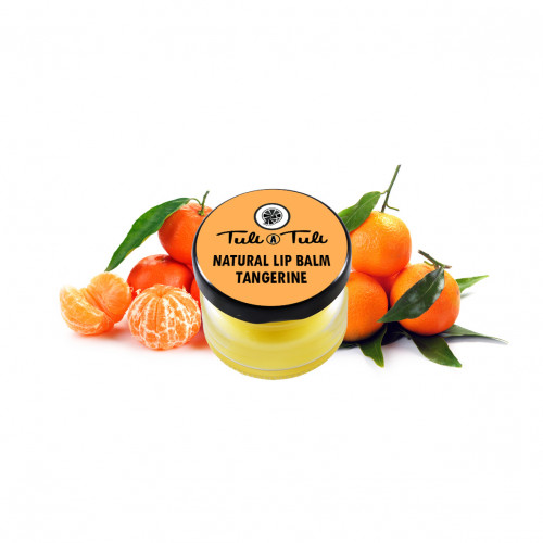 Natural Lip Balm Tangerine