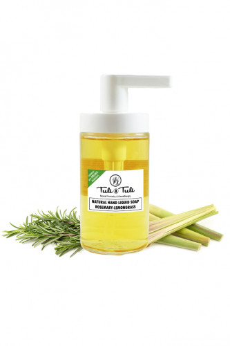Natural Hand Liquid Soap Rosemary & Lemongrass