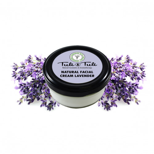 Natural Facial Cream Lavender 50 ml