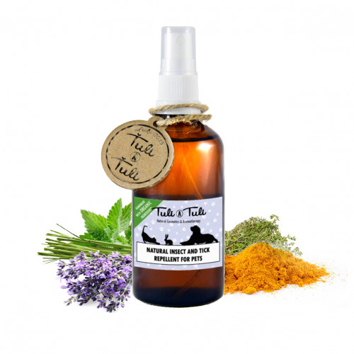 Natural Insect and Tick Repellent for Pets