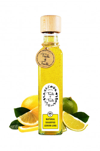 Natural Shampoo Lemon & Lime
