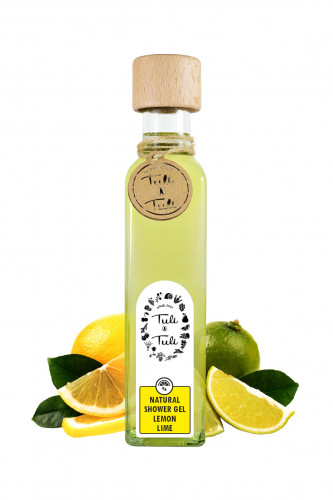 Natural Shower Gel Lemon & Lime