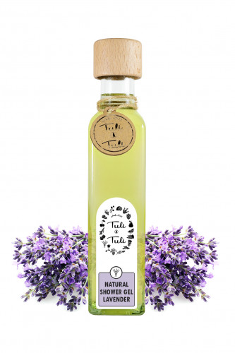 Natural shower Gel Lavender
