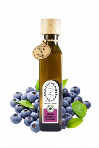 Natural Shower Gel Blueberry