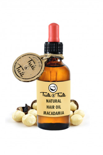 Natural Macadamia Hair Oil